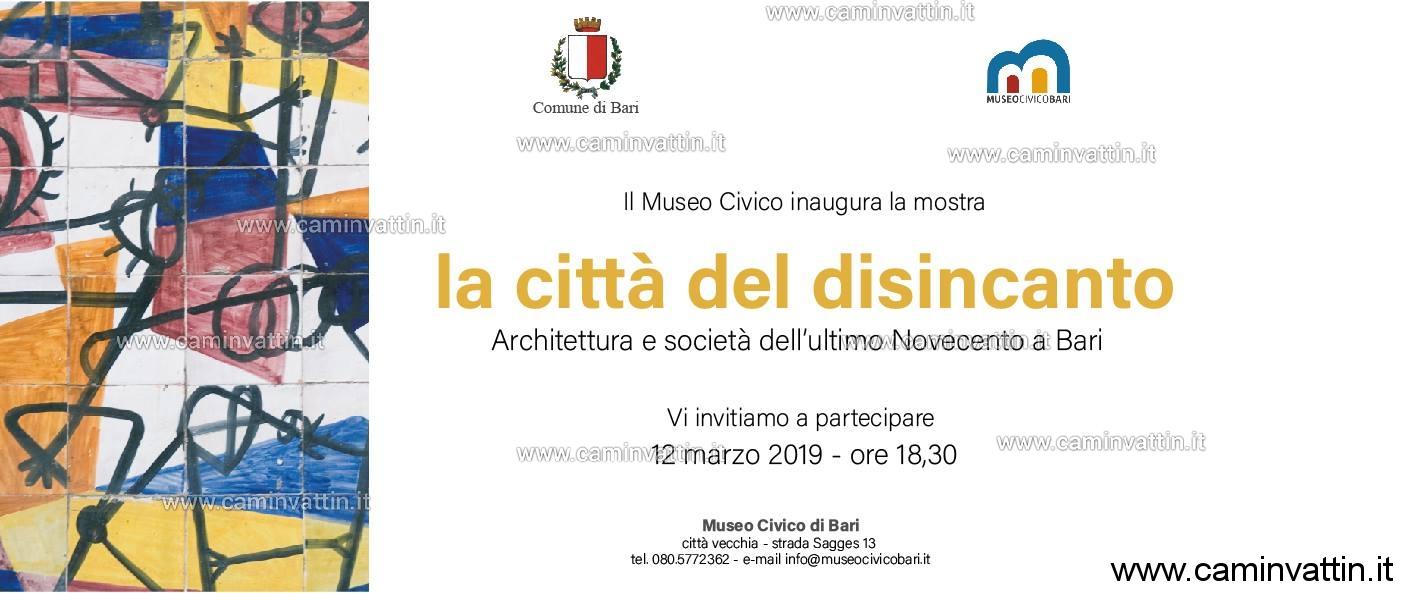 La citta del disincanto Architettura e societa dell ultimo Novecento a Bari