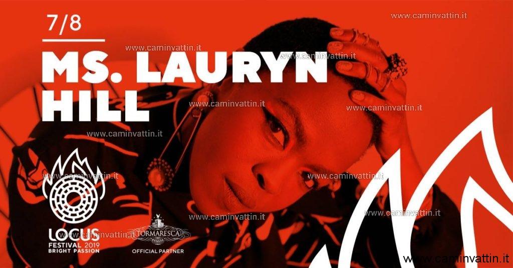 Ms Lauryn Hill in concerto a Locorotondo Locus Festival 2019