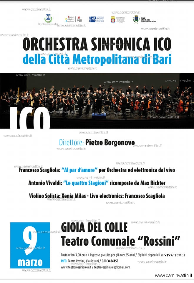 Pietro Borgonovo Orchestra Sinfonica Metropolitana Teatro Rossini