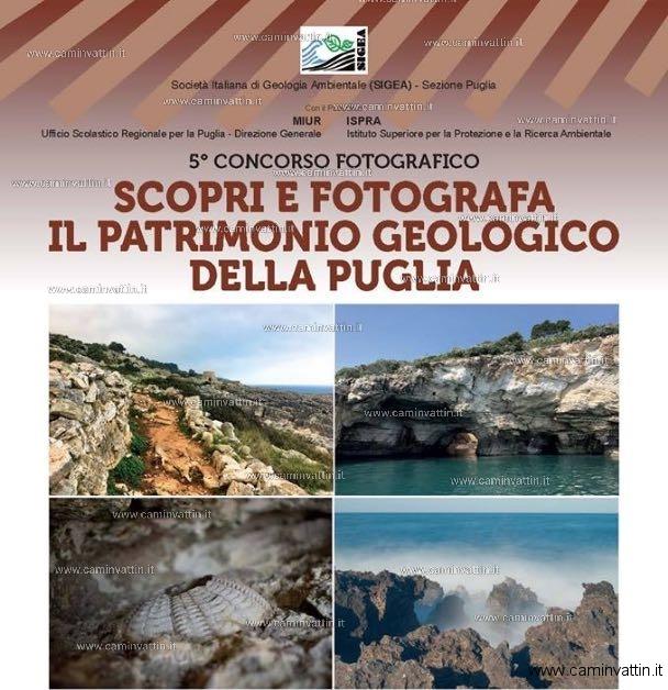 Scopri e fotografa il patrimonio geologico della Puglia concorso fotografico