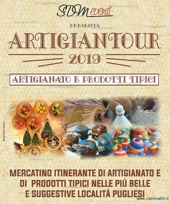 Calendario Mercatini Antiquariato Puglia.Artigiantour 2019 A Polignano A Mare Mercatino Itinerante