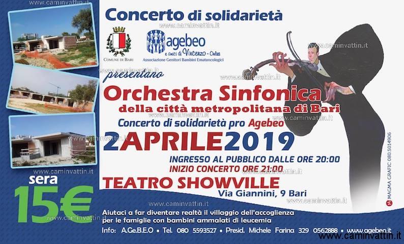 concerto di solidarieta pro agebeo