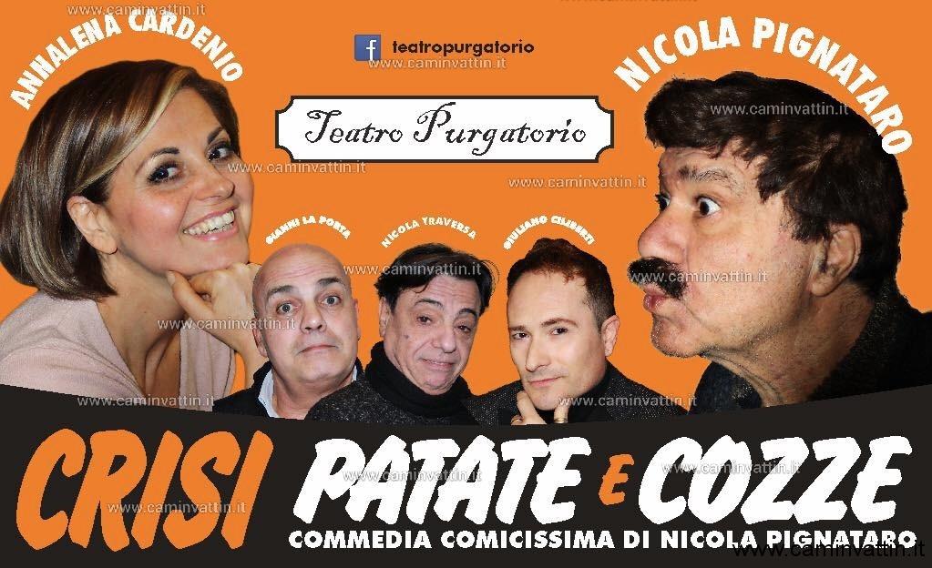 crisi patate e cozze nicola pignataro teatro purgatorio