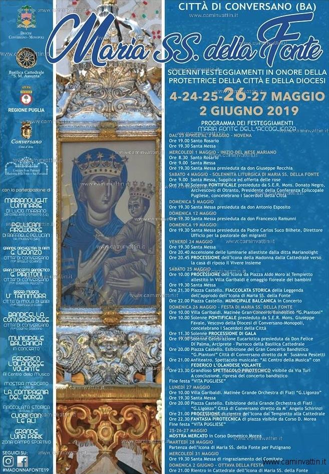 festa maria ss della fonte conversano 2019