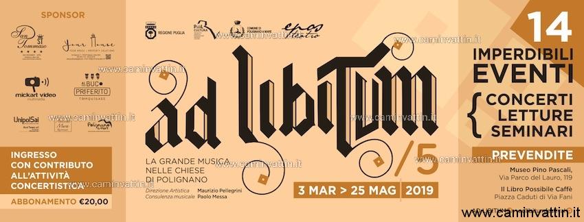 festival ad libitum 2019 polignano