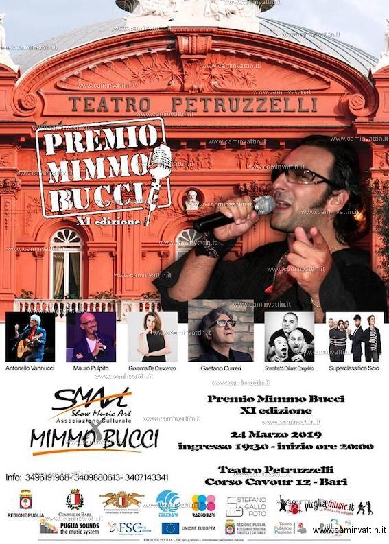 premio mimmo bucci 2019 teatro petruzzelli