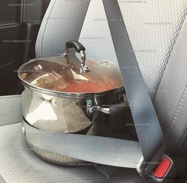 La cintura di sicurezza: una buona abitudine che può salvare la vita alle vostre brasciole