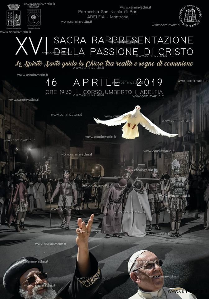 sacra rappresentazione della passione di cristo adelfia 2019