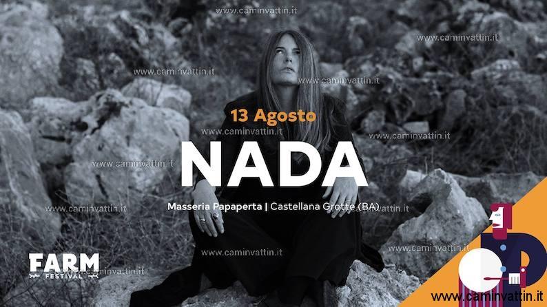 Nada Malanima a Castellana Grotte FARM Festival 2019