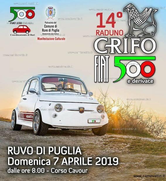 Raduno Fiat 500 e derivate a Ruvo di Puglia