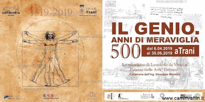 il genio 500 anni di meraviglia mostra