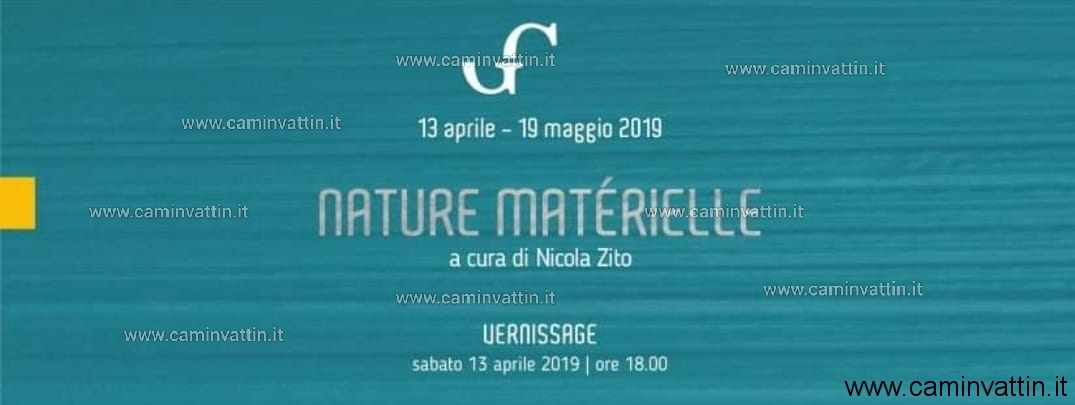 nature materielle mostra