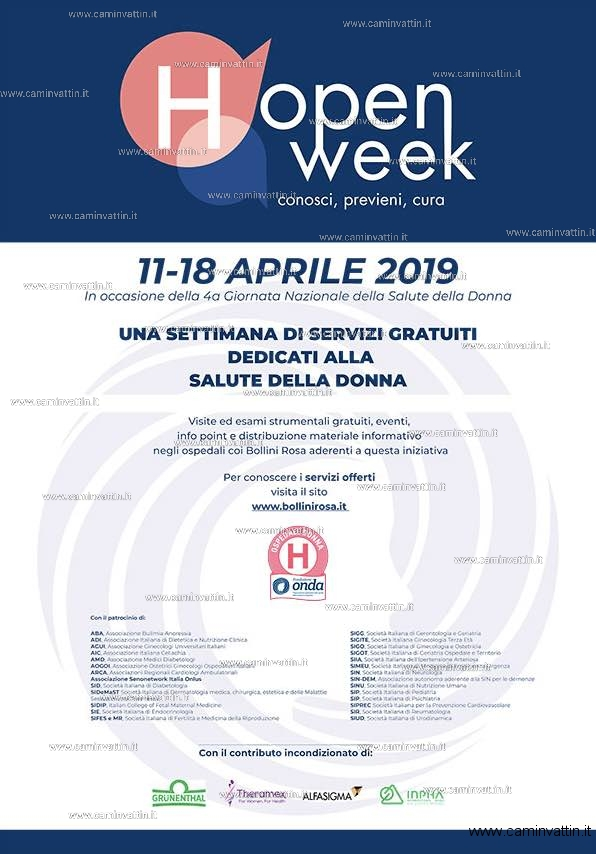 open week ospedale miulli aprile 2019
