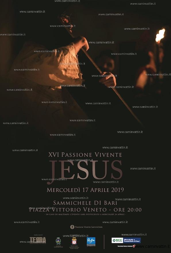 passione vivente jesus sammichele di bari 2019