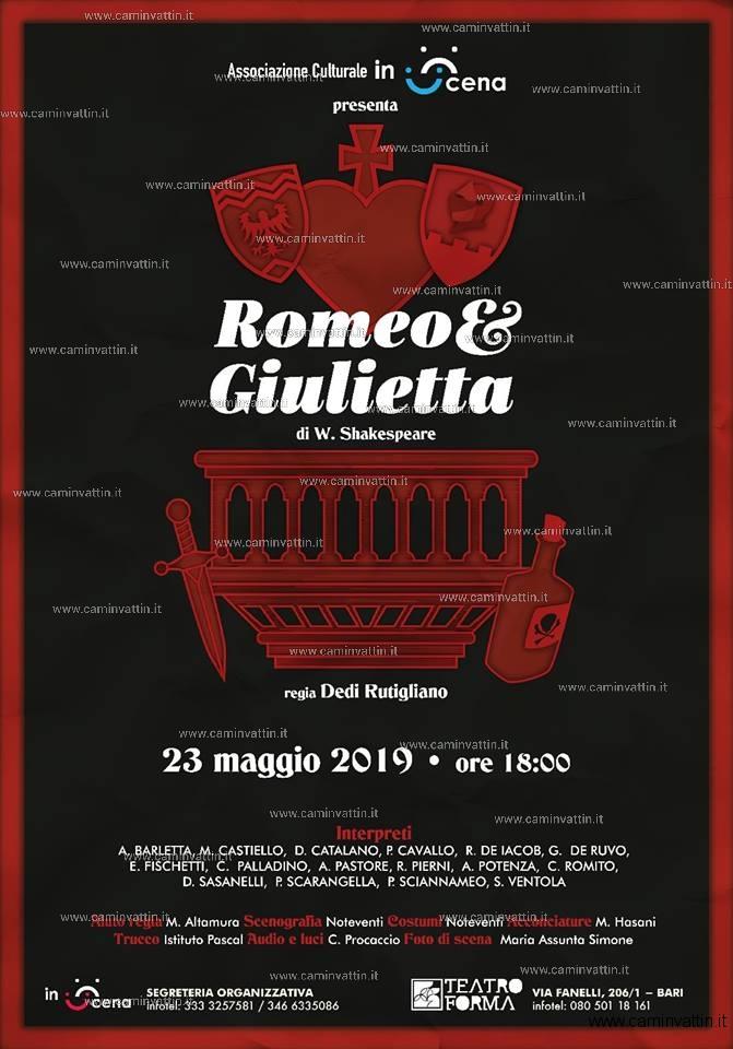 romeo e giulietta teatro forma