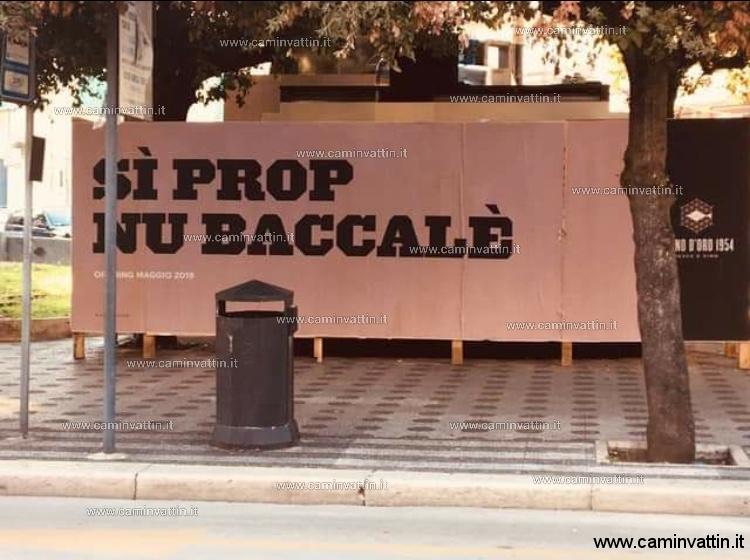 Sì prop nu baccalè (Sei proprio un baccalà)