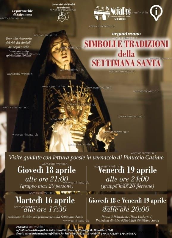 simboli e tradizioni della settimana santa noicattaro