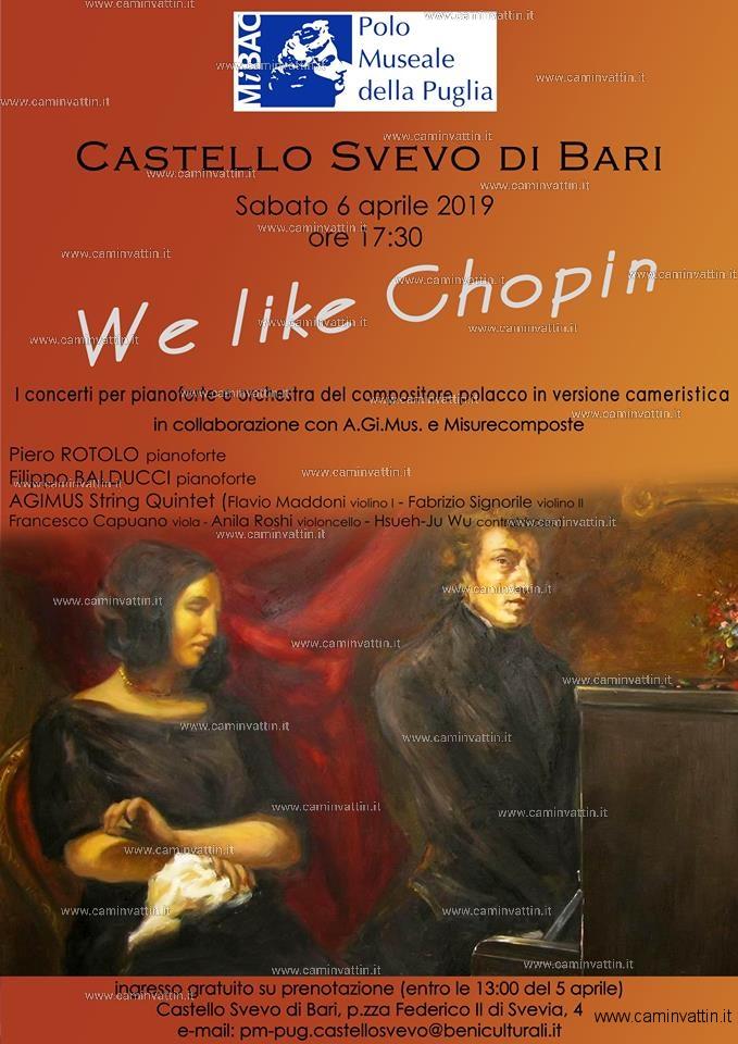 we like chopin castello svevo bari