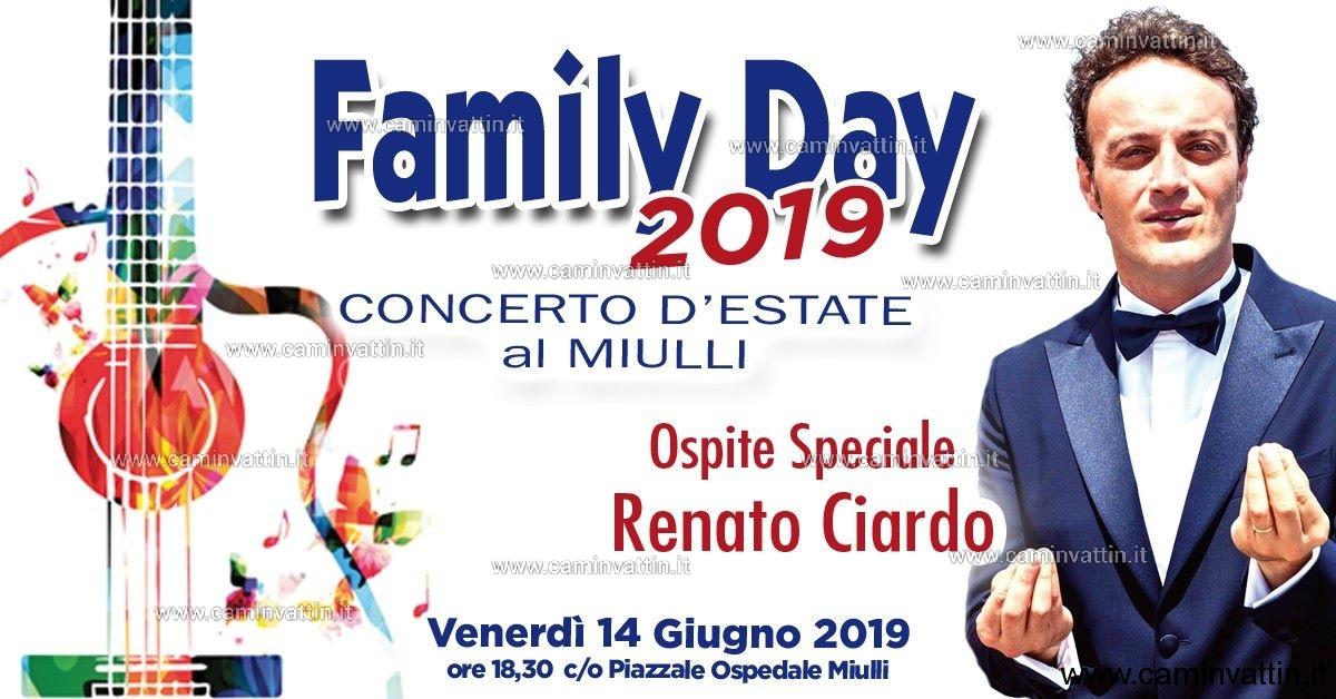 Concerto Estate Ospedale Miulli, ospite speciale Renato Ciardo