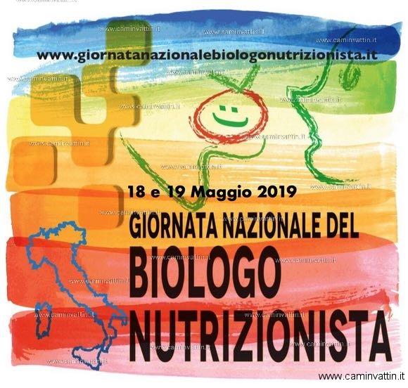 Giornata Nazionale del Biologo Nutrizionista 2019