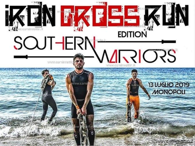IRON CROSS RUN 2019 Southern Warriors Edition a Monopoli