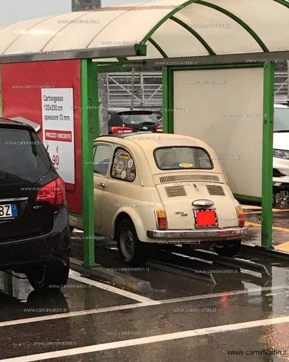 il genio del parcheggio