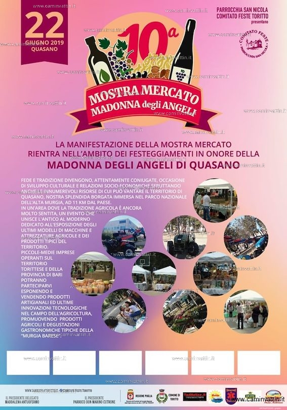 mostra mercato madonna degli angeli