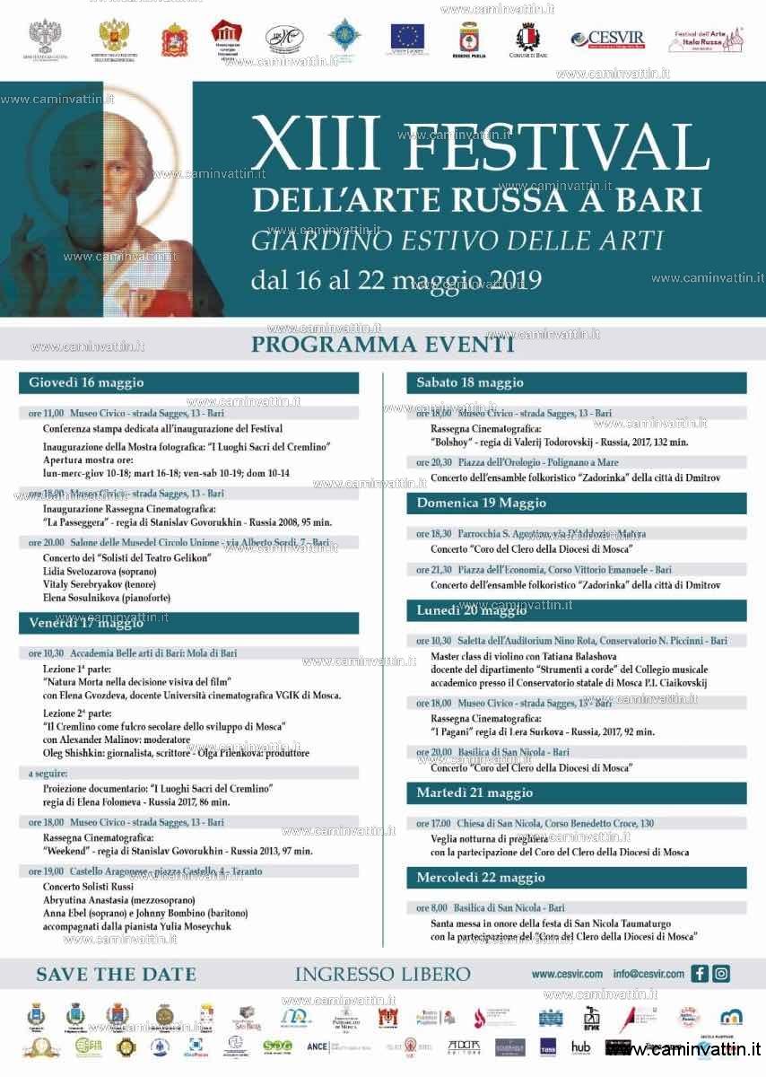 programma festival dell arte russa bari