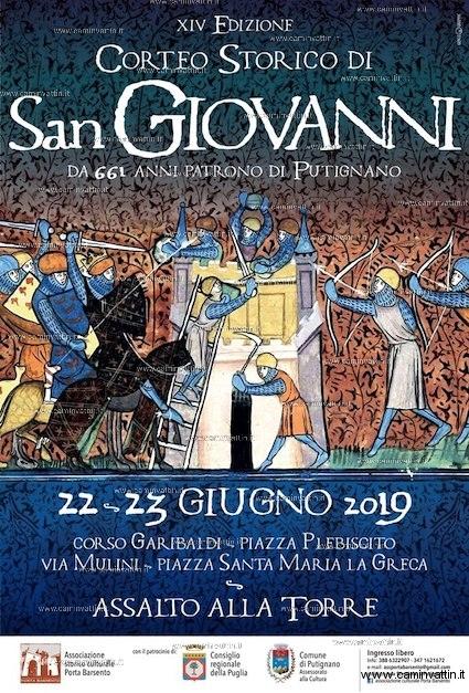 Corteo storico di San Giovanni patrono di Putignano