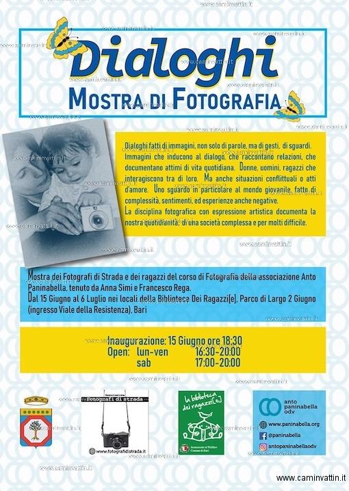 DIALOGHI Mostra di Fotografia a Parco 2 Giugno