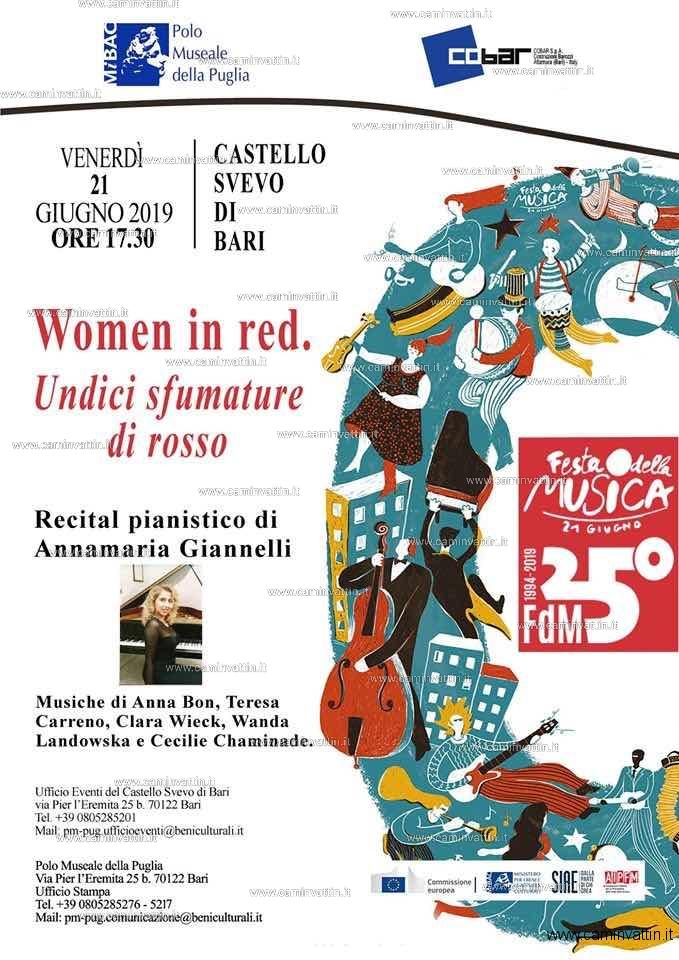 Festa della Musica al Castello Svevo di Bari