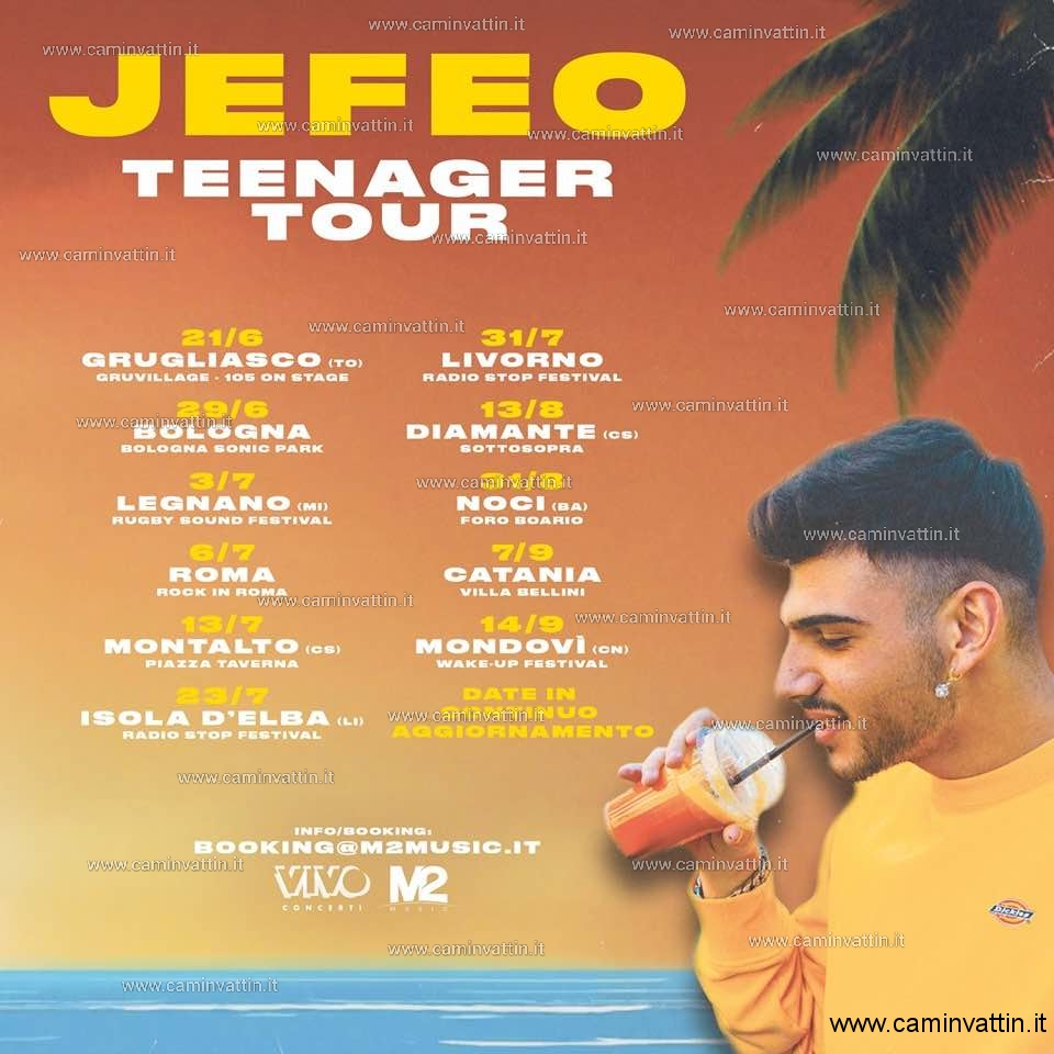 JEFEO in concerto a Noci Teenager Tour