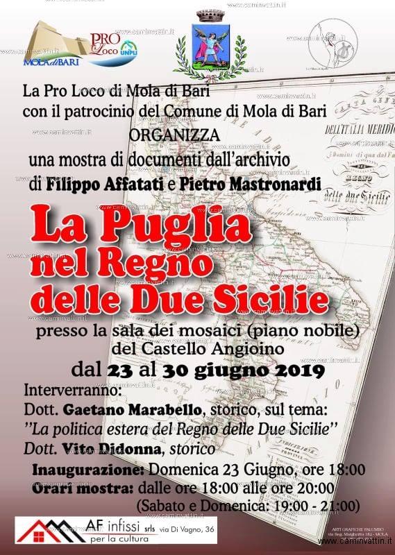 La Puglia nel Regno delle Due Sicilie Mostra documenti storici