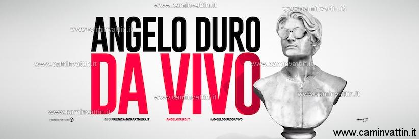 """ANGELO DURO torna al Teatro Team di Bari con """"Da Vivo"""""""