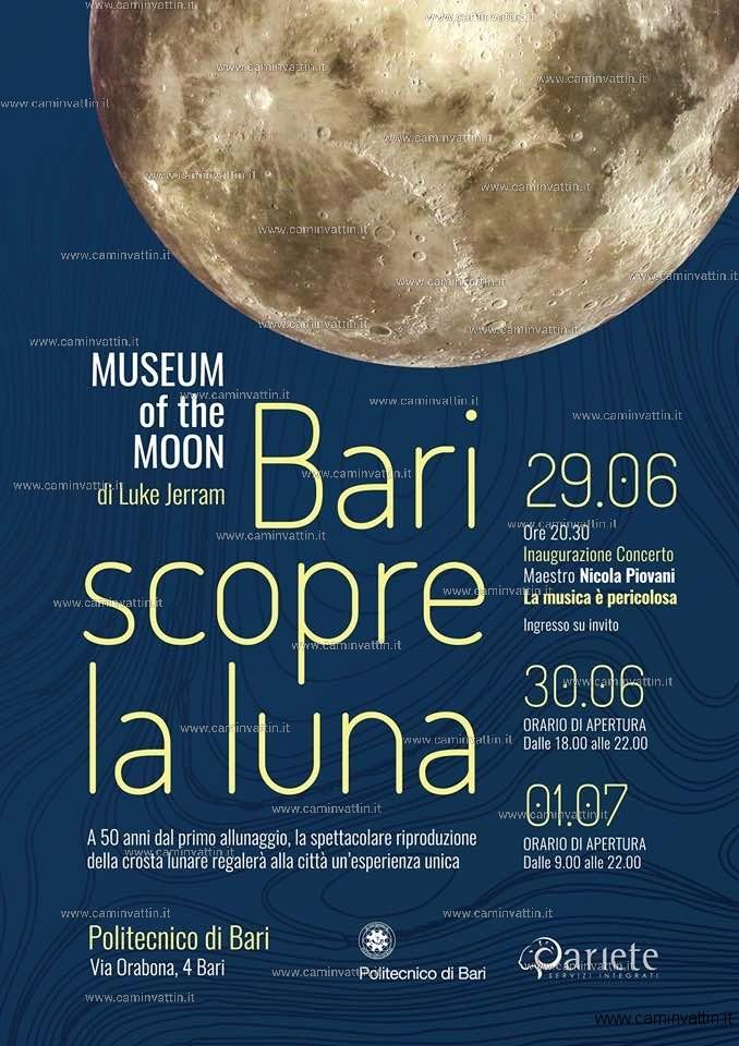 bari scopre la luna museum of the moon luke jerram