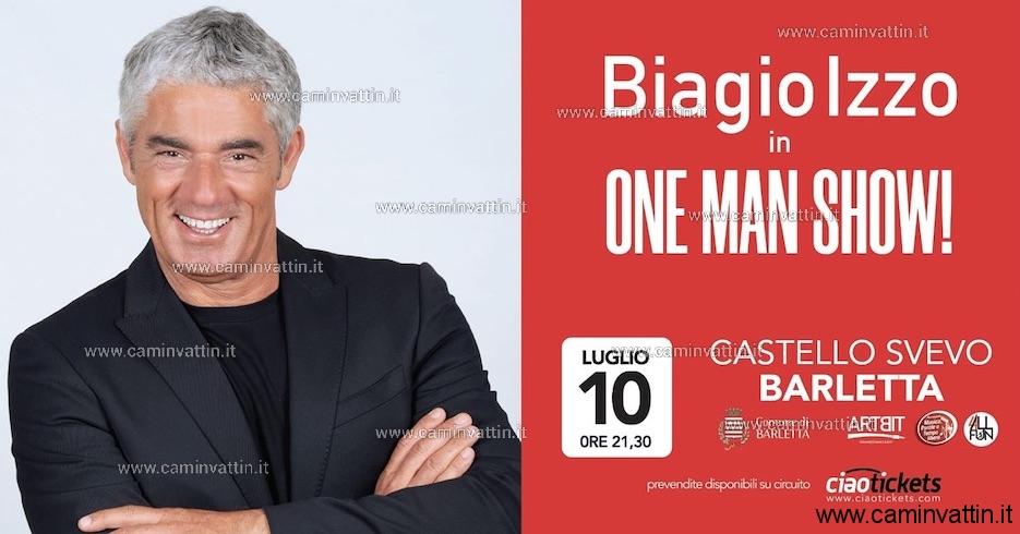 biagio izzo one man show
