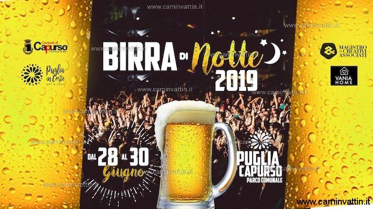 birra di notte 2019 capurso