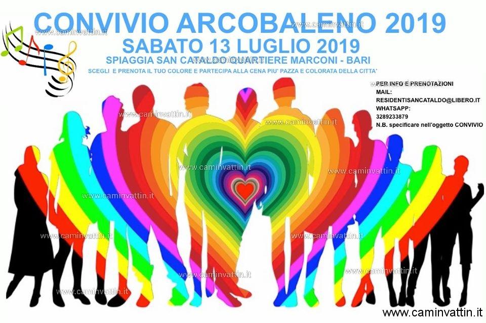 convivio arcobaleno 2019 bari san cataldo