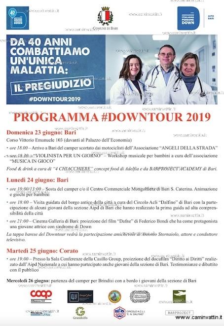 downtour 2019 bari corato