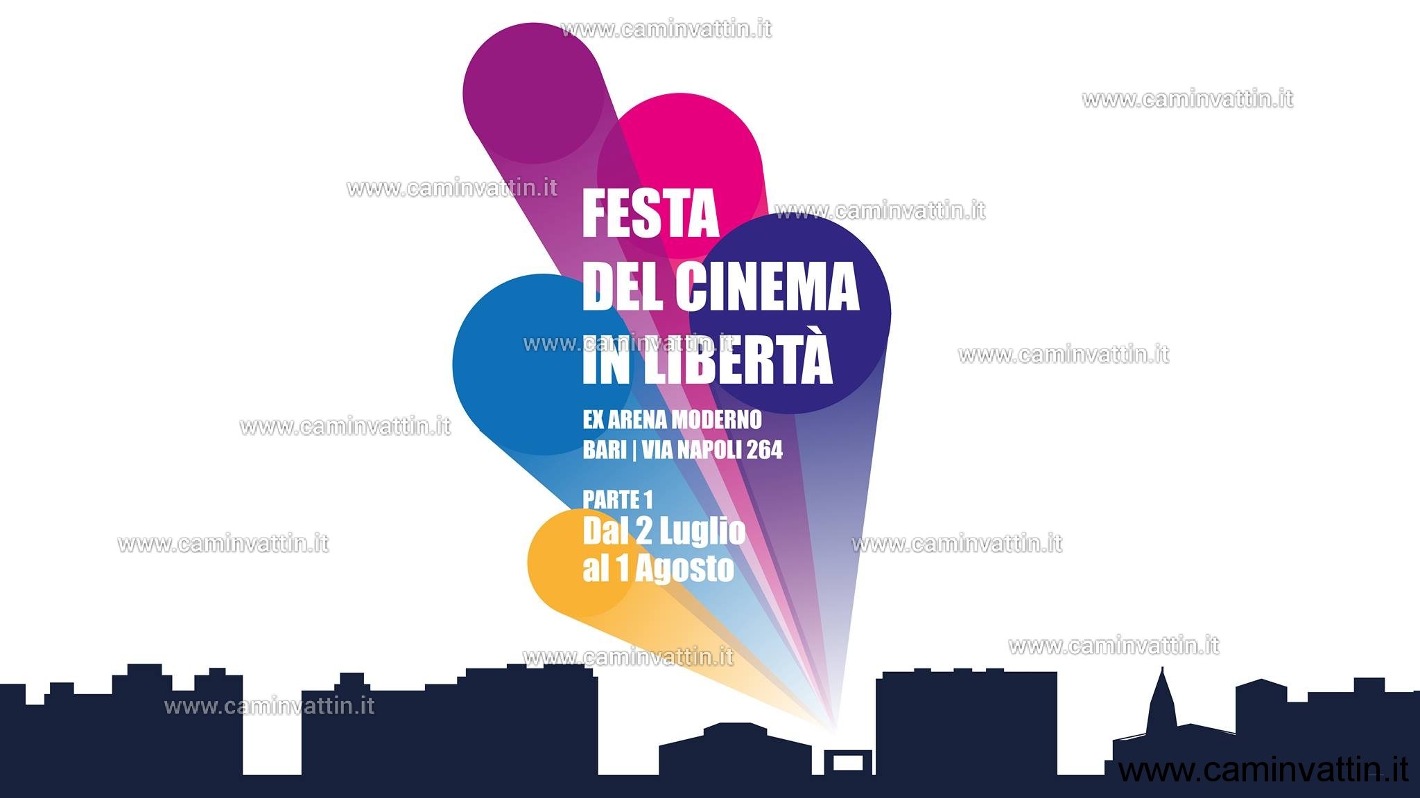 festa del cinema in liberta