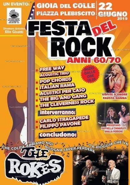 festa del rock gioia del colle