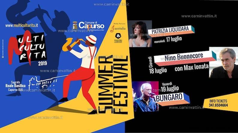 multiculturita summer festival 2019 capurso