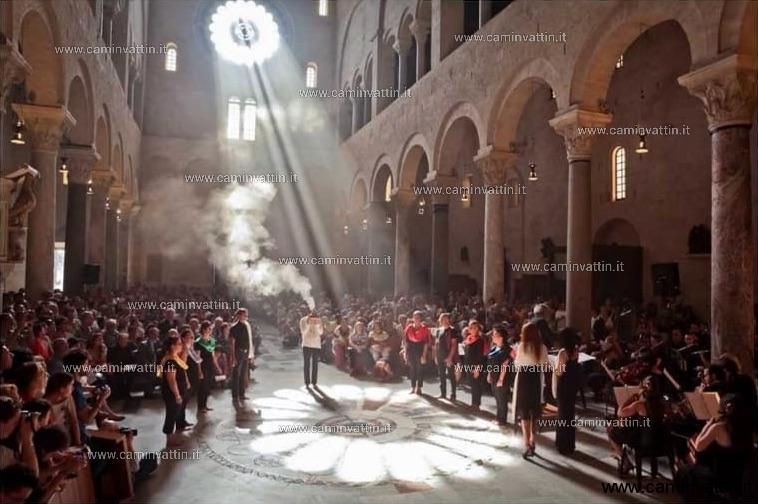 solstizio cattedrale di bari 21 giugno