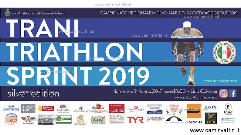 trani triathlon sprint 2019