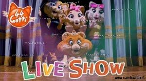44 gatti live show teatro team bari