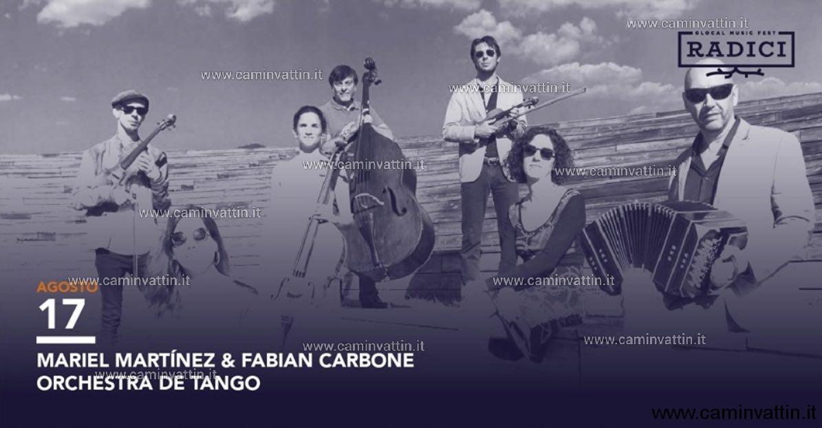 Mariel Martinez Fabian Carbone Orquesta de Tango