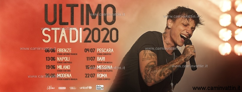 ultimo stadi tour 2020 concerto bari