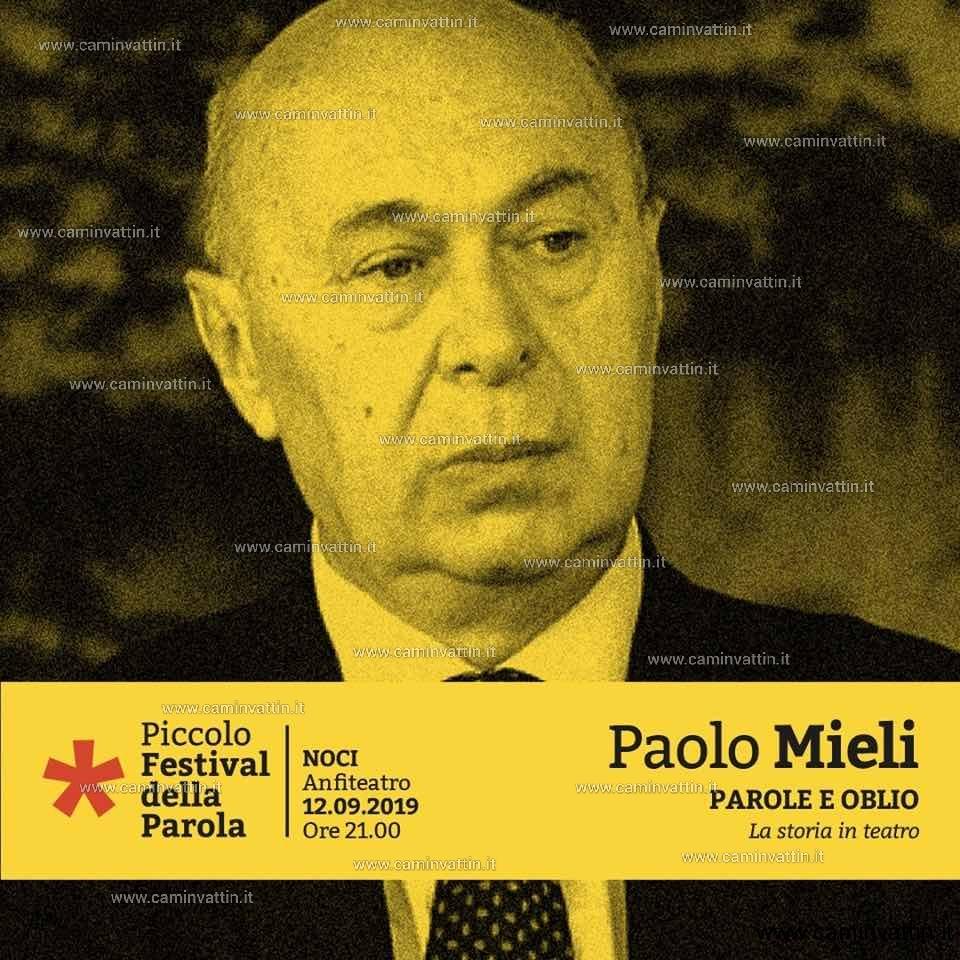 Paolo Mieli al Piccolo Festival della Parola