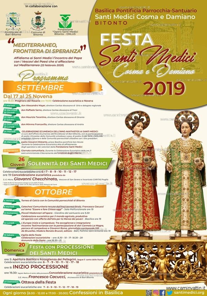festa santi medici bitonto 2019