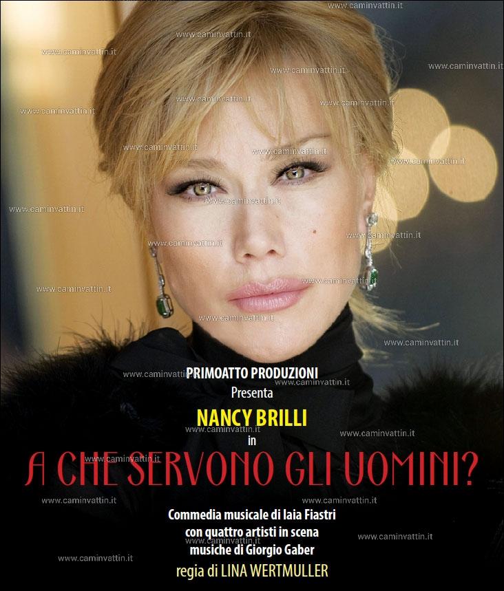 """NANCY BRILLI in """"A che Servono gli Uomini"""" al Teatro Team"""